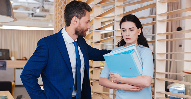 how to report harassment in the workplace